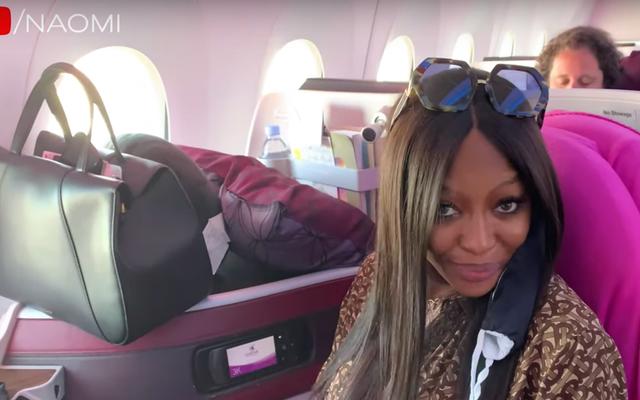 Saya Terinspirasi Oleh Rutinitas Bandara Super Rumit Naomi Campbell