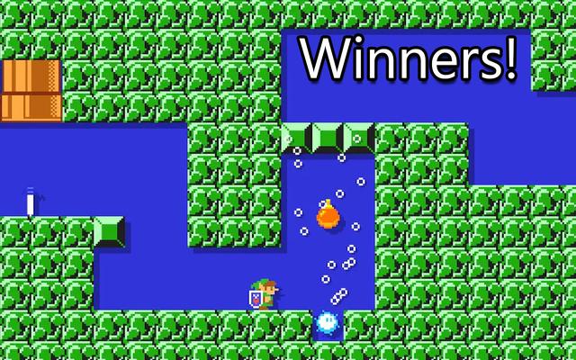 マリオメーカーコンテスト:新しいもの、勝者
