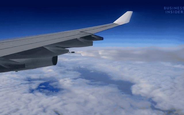 飛行機が飛行中に燃料の大部分をこぼすことがある理由