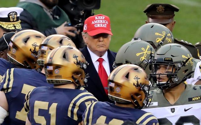 Big Ten mantiene esa misma energía, confirma que no habrá fútbol universitario este otoño después de que Trump mienta una vez más