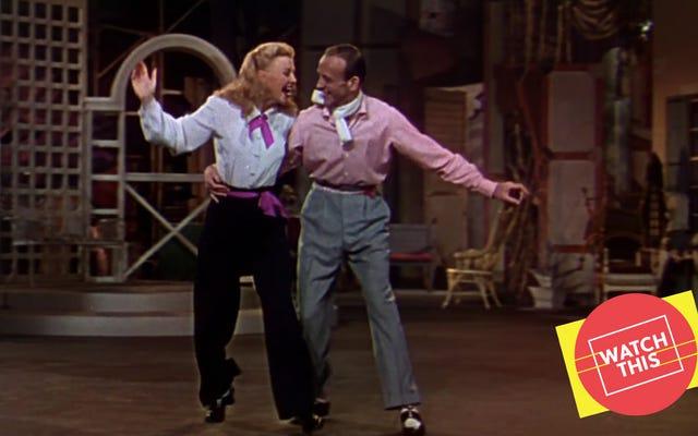 Barkleys Of Broadway đã mang đến cho Astaire và Rogers một bài hát thiên nga phù hợp