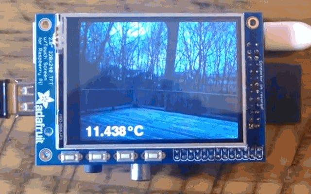 Crea una videocamera remota alimentata da Raspberry Pi che monitora meteo, temperatura e altro