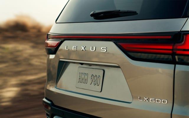 Lexus trêu chọc LX 600 2022 trước khi ra mắt ngày 13 tháng 10