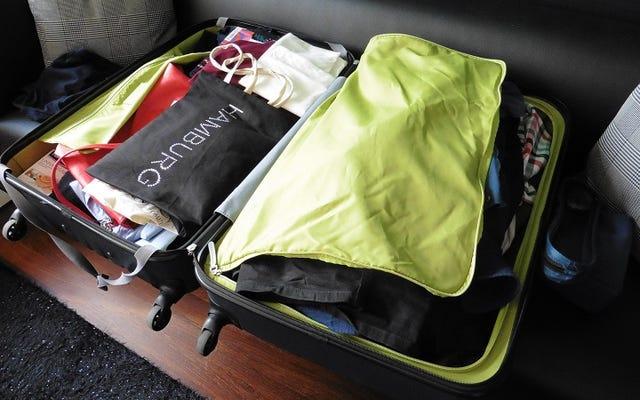 Pack, Unpack, Repack: военный способ лучше упаковать чемоданы