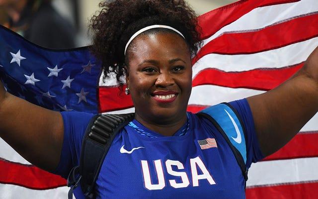 もっと#BlackGirlMagic:ミシェルカーターが砲丸投げで金メダルを獲得