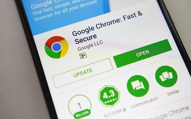Người dùng Android cuối cùng cũng có thể xem trước các trang trong Chrome