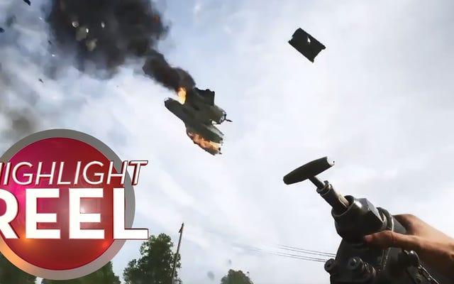 Avion d'épaves de chars à très Battlefield V Way