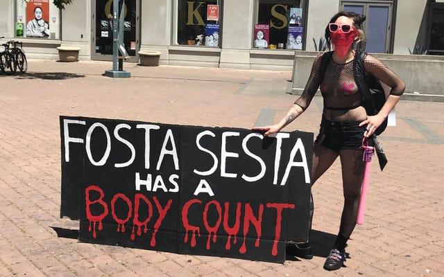 Des centaines de travailleuses du sexe se rassemblent pour la Journée internationale des putes