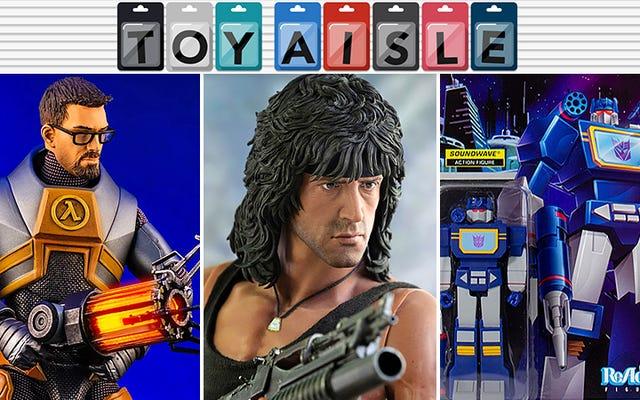 アクションフィギュア80年代の髪と今週の最もスタイリッシュなおもちゃの驚異的な成果