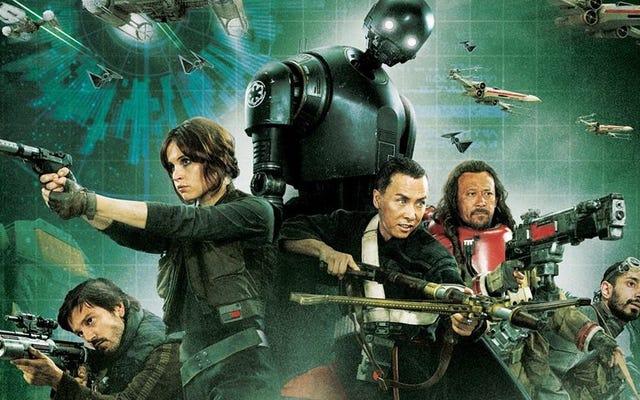 Tôi đã xem Rogue One và nó u ám, đầy cảm xúc và mọi thứ tôi mong đợi từ một bộ phim Chiến tranh giữa các vì sao