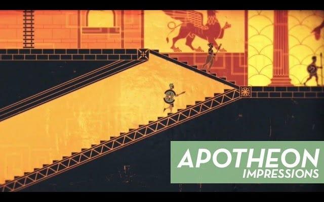 Obsesi Saat Ini: Apotheon, Metroid Di Gunung Olympus Itu A Tad NSFW