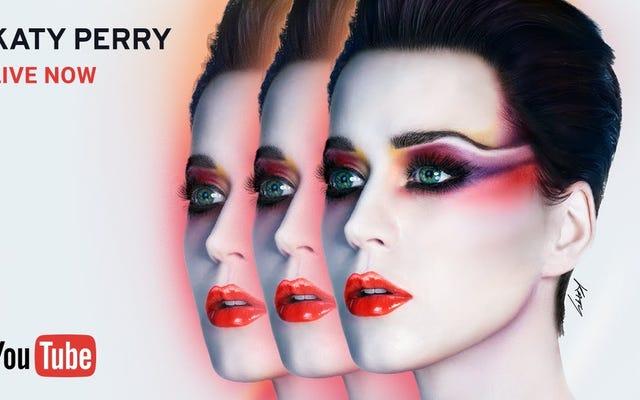 कैटी पेरी अपने नए एल्बम को बढ़ावा देने के लिए अपने संपूर्ण सप्ताहांत को लाइव-स्ट्रीमिंग कर रही है
