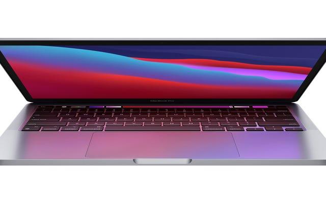 M1を搭載したAppleの新しい13インチMacBookProは、PCのライバルを破壊することを約束します