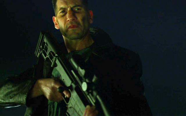 Новые фото из набора Punisher показывают Фрэнка Кастла во всей его нагруженной черепами славе