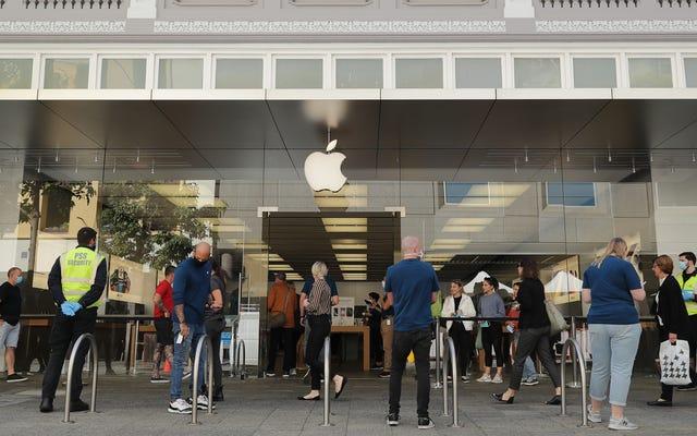 Apple rouvre 25 magasins aux États-Unis avec de nouvelles règles