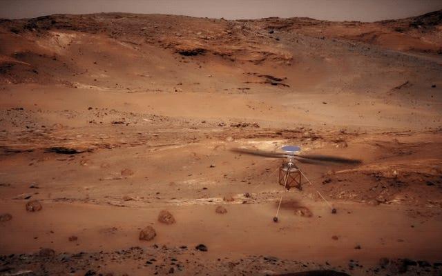 La NASA invierà un elicottero su Marte con il suo nuovo rover