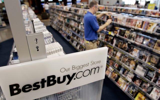 No, Best Buy non ha ancora smesso del tutto di vendere CD, comunque