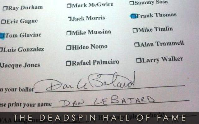 2014 Deadspin Hall of Fameノミニー:Dan LeBatardのHallof Fame Ballot