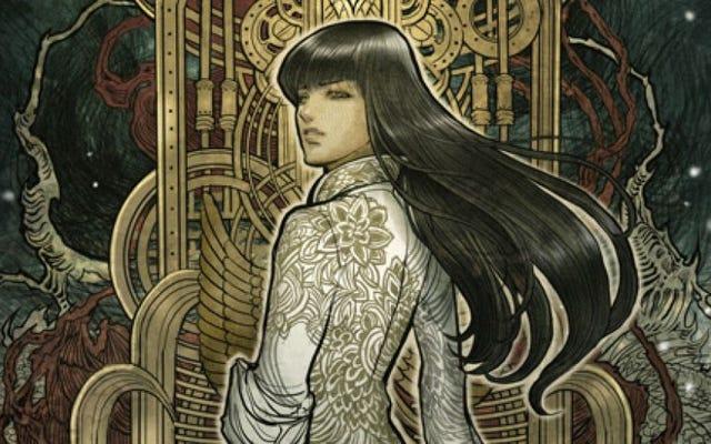 Monstress séduit par sa fusion de bandes dessinées et de mangas occidentaux