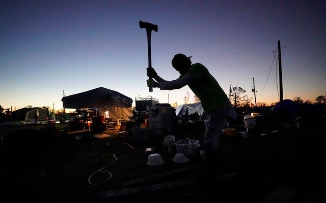 Kota Louisiana yang Diserang Dua Badai Tahun Lalu Menderita dalam Pembekuan yang Mendalam Minggu Ini