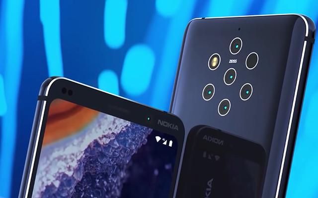 Une photo officielle divulguée confirme les cinq caméras du nouveau Nokia 9 Pureview