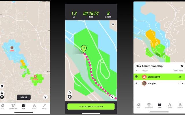 Stride es un adictivo juego de acaparamiento de territorios para corredores