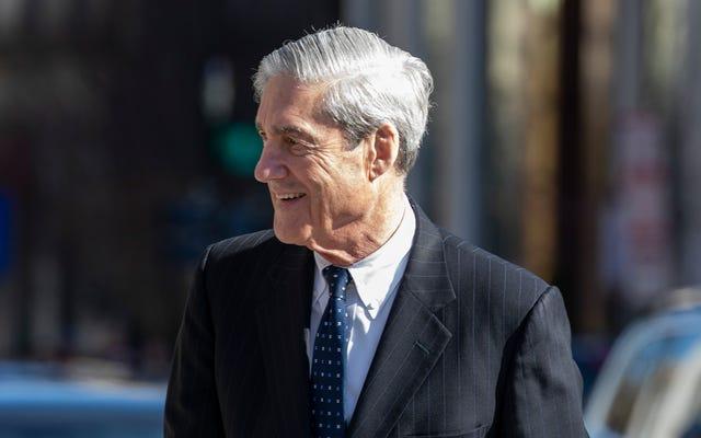 Robert Mueller ve Wack Raporu Kötü Bir Diz Gibi Çıktı ve Bu İlk Defa Değil