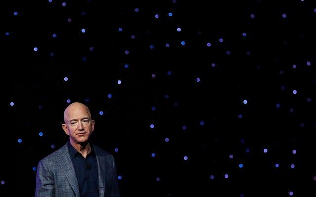 ジェフ・ベゾスは、アマゾンが気候変動に対処することを望んでいる彼の従業員の話を聞くためにステージに上がることさえしませんでした