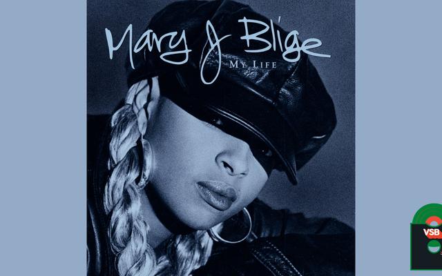 28 días de Blackness en la portada del álbum con VSB, día 19: My Life (1994) de Mary J. Blige