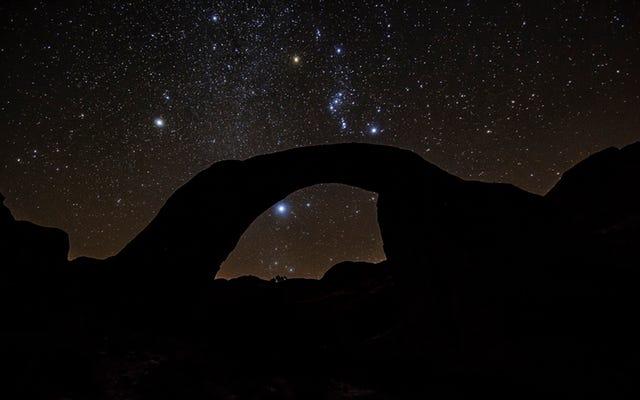 国立公園システムはちょうどその最初の暗い空の聖域を手に入れました