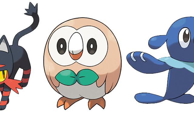 Internet réagit aux démarreurs Pokémon Soleil et Lune