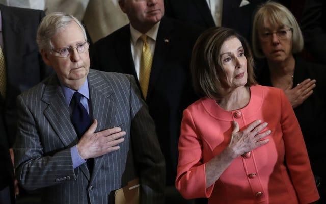 El Congreso no da AF sobre Estados Unidos