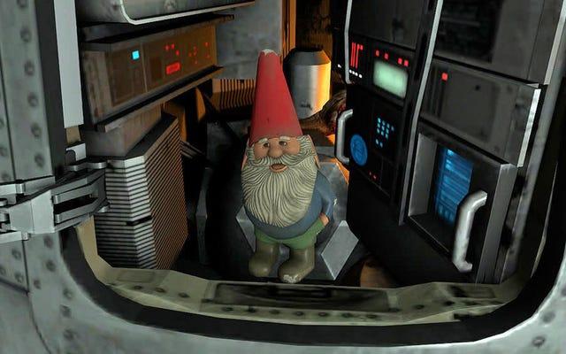 Half-Life 2:Episode 2は、Gabe Newellが宇宙にノームを撃っているため、新しい成果を上げました