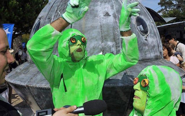 ニュージャージー州の警察は自家製の「UFO検出器」を解体し、人類の悲惨な運命を封印しました