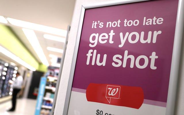 Вакцина от гриппа в этом году на самом деле довольно эффективна - и еще не поздно получить ее