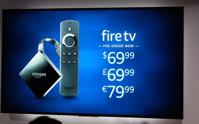 TV Api Baru Amazon Adalah Dongle 4K Bertenaga Tinggi