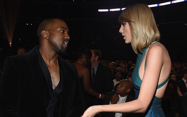 Taylor Swift: No sabía que Kanye me llamaba 'Perra' en su nueva canción. Kanye: ella está mintiendo