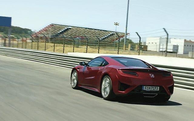 कैसे नई Acura NSX मूल की तुलना में