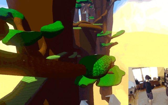 เกม VR อย่างรวดเร็ว: Windlands ให้คุณแกว่งไปมาเหมือน Spider-Man