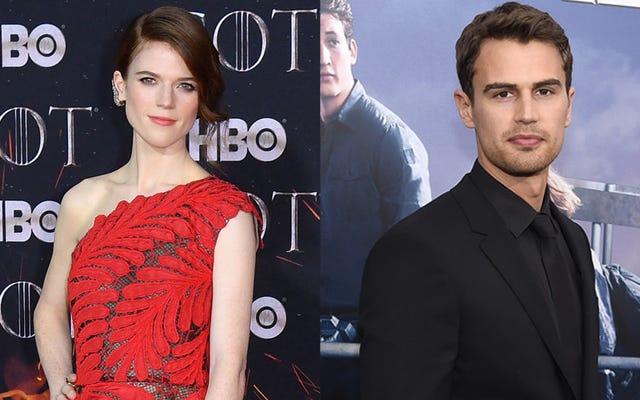 Rose Leslie et Theo James joueront dans la série Time Traveler's Wife de Steven Moffat pour HBO
