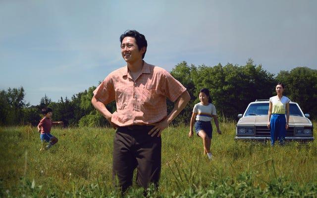Steven Yeun, orantısız olsa da Minari'de Amerikan rüyasını kovalayan bir aile babasıdır.