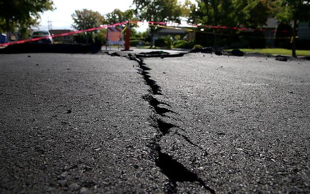 ロボットジャーナリストが1925年からの地震について誤って報告