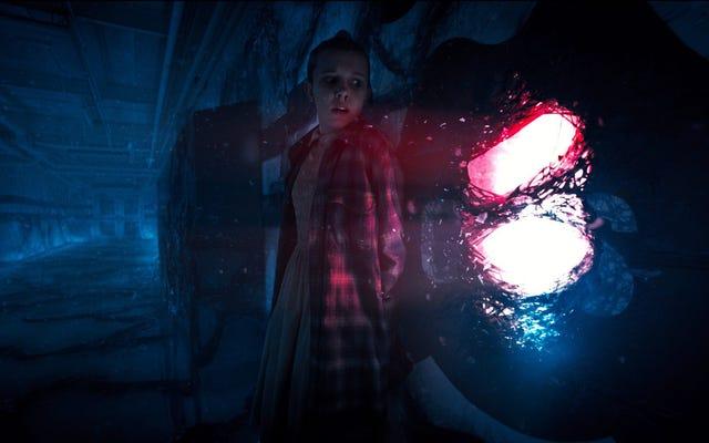 ในคลิป Stranger Things นี้ Eleven หนีกลับหัวกลับหางโดยกำเนิดจากมาสคอตโรงเรียน School