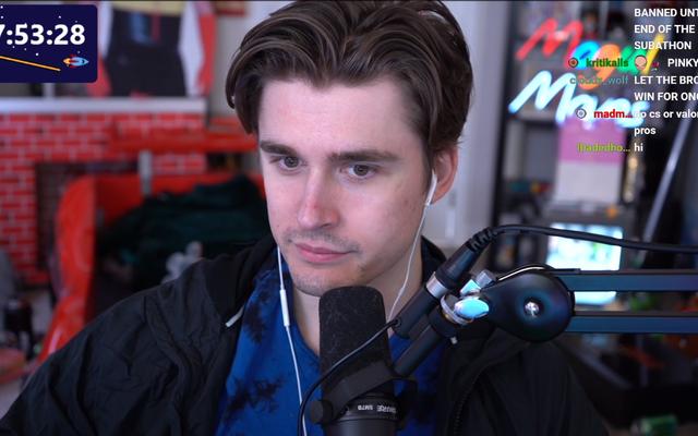 Twitch Streamer za `` niekończącym się '' maratonem mówi, że zarobi tylko niewielki ułamek z 470 000 $ pozyskania