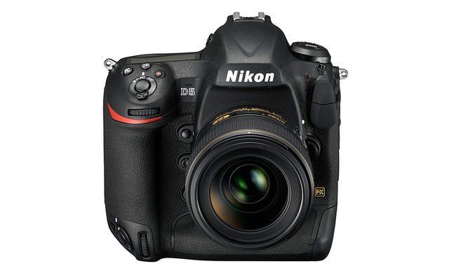 Nikon D5: Máy ảnh DSLR Super Overkill lại tiếp tục xuất hiện với video 4K