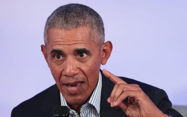 バラク・オバマがドナルド・トランプの時代に「文化のキャンセル」を呼びかける