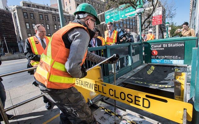 New York peut-il boucher tous ses trous de métro avant la prochaine tempête?