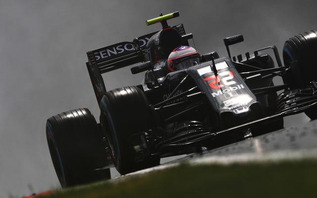 F1ラジオ禁止はそれが1つのレースで価値がないことを証明します、投げ出されます