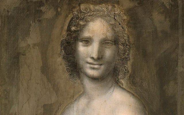 Ce dessin d'une femme nue peut être le croquis perdu que Da Vinci a utilisé pour peindre la Joconde