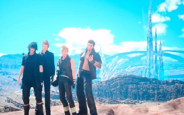 Les acteurs de la voix de Final Fantasy XV jouent leur propre jeu est excellent